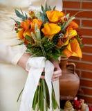 新娘的花束 库存照片
