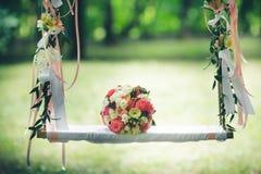2新娘的花束 免版税库存图片