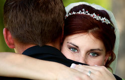 新娘眼睛 免版税图库摄影