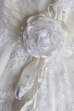 新娘礼服片段 图库摄影