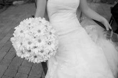 新娘礼服 库存照片