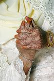 新娘祈祷 免版税库存照片