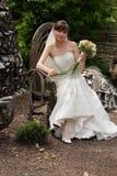新娘等待 免版税图库摄影