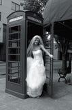 新娘紧急 免版税图库摄影