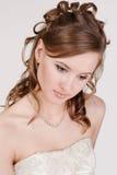 新娘纵向年轻人 库存图片