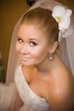 新娘纵向 库存照片