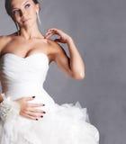 新娘纵向 免版税库存图片