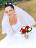 新娘纵向 免版税图库摄影
