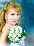 新娘纵向 免版税库存照片
