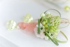 新娘美丽的花束 免版税库存照片