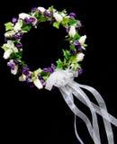 新娘花圈 免版税库存图片