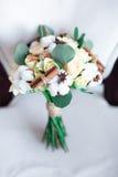 新娘花束棉花 免版税库存图片