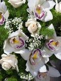 新娘花束 库存照片