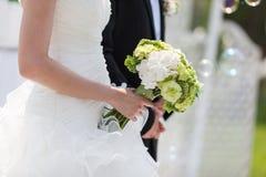 新娘花束 库存图片
