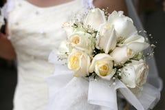 新娘花藏品花束  免版税图库摄影
