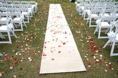 新娘跑道 库存图片