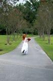 新娘逃亡 图库摄影