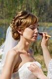 年轻新娘 免版税库存照片