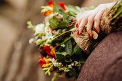 新娘` s花束 图库摄影
