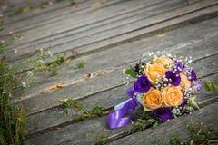 新娘` s花束 库存图片