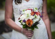 新娘Boquet 免版税图库摄影