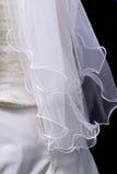 新娘s面纱 免版税库存图片