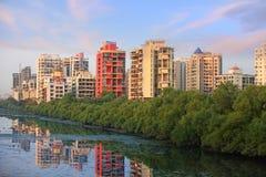 新孟买,印度 库存照片