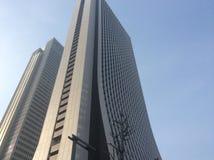 新宿摩天大楼 免版税库存照片