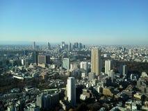新宿视图和东京 免版税库存图片