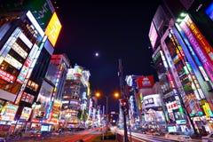 新宿,东京,日本 库存照片