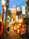 新宿,东京 图库摄影
