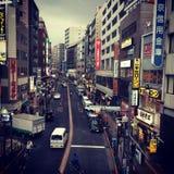 新宿,东京 免版税库存照片