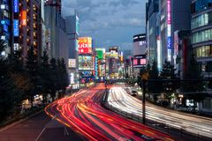 新宿 免版税库存图片