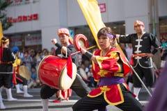 新宿Eisa节日 库存图片