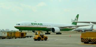 新山一国际机场在西贡,越南 库存图片