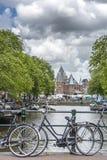 新市场在阿姆斯特丹,荷兰 库存图片