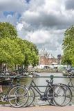 新市场在阿姆斯特丹,荷兰 库存照片