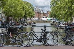 新市场在阿姆斯特丹,荷兰 免版税库存照片