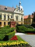 新市镇大厅在布拉索夫,罗马尼亚 免版税库存图片