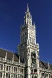 新市镇霍尔在慕尼黑 免版税库存图片
