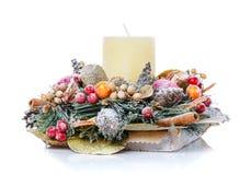 新年和圣诞节冬天装饰 新年和圣诞节冬天装饰 图库摄影