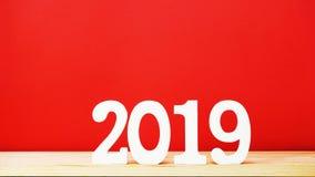 新年好信件木字母表顶视图 免版税库存图片