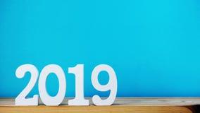 新年好信件木字母表顶视图 免版税图库摄影