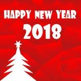 新年好2018年 库存照片