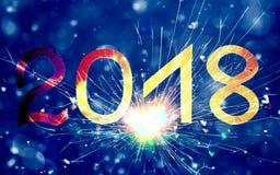 新年好2018年 免版税图库摄影
