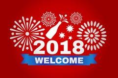新年好2018年 图库摄影