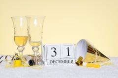 新年度当事人静物画 库存照片