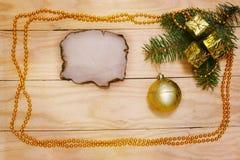 新年度的装饰 免版税库存图片
