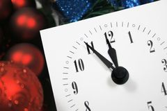 新年度的 免版税库存图片