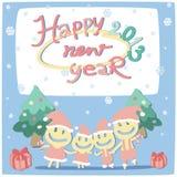新年度看板卡2013年 库存例证